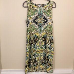 Dresses & Skirts - Lovely yellow paisley summer dress size XL